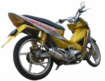 Top modifikasi motor honda revo